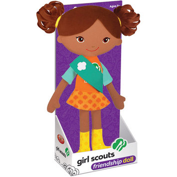 Yottoy Girl Scout 11.75 Friendship Doll - Carly