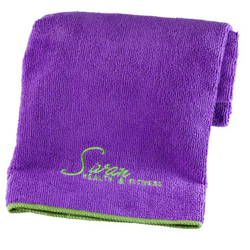Ggi International Yoga Hand Towel Color: Purple