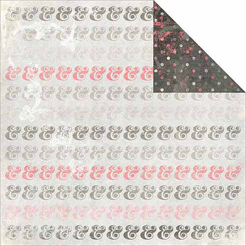 Glitz Design Love You Madly Double-Sided Heavy-Weight Paper, 12
