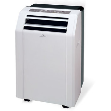 Commercial Cool - 12,000 Portable Air Conditioner And Heater - White