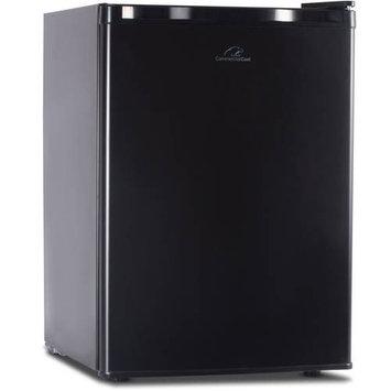 W Appliance Westinghouse 2.6 Cubic Feet Black Refridgerator & Freezer
