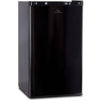 W Appliance Westinghouse 3.2 Cubic Feet Black Compact Refrigerator & Fre