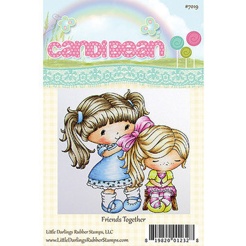 Little Darlings LD7014 Candibean Unmounted Rubber Stamp 3.338 in. X3.25 in-Pennys Little Owls