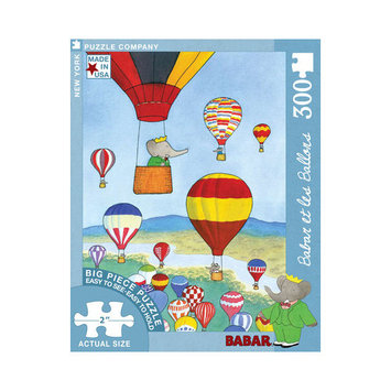 Tnt Media Group Babar et les Balloons 300 Piece Jigsaw Puzzle