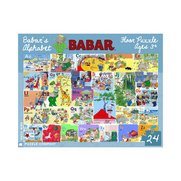 Tnt Media Group Babar's Alphabet 24 Piece Floor Puzzle