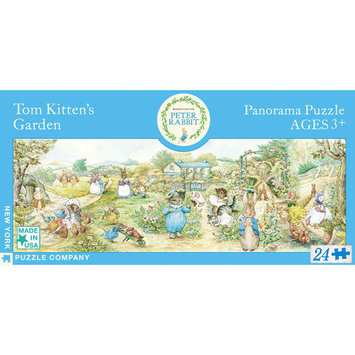 Tnt Media Group Tom Kitten's Garden 24 Piece Panoramic Floor Puzzle