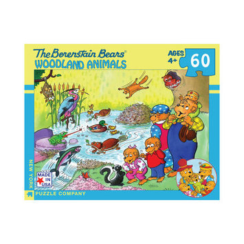 Tnt Media Group Woodland Animals 60 Piece Jigsaw Puzzle