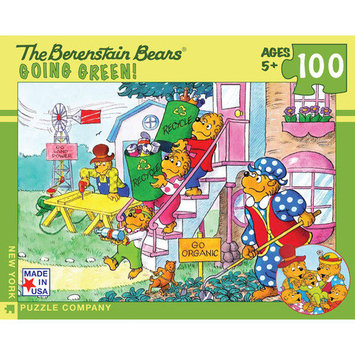 Tnt Media Group Go Green 100 Piece Jigsaw Puzzle