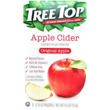 Tree Top Original Apple Cider Instant Drink Mix, 0.75 oz, 6 count