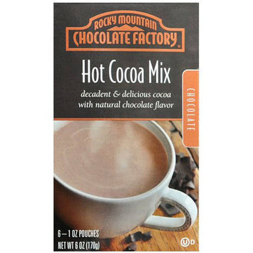 Rocky Mountain Chocolate Factory Chocolate Hot Cocoa Mix, 1 oz, 6 count