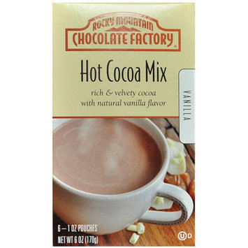 Rocky Mountain Chocolate Factory Vanilla Hot Cocoa Mix, 1 oz, 6 count