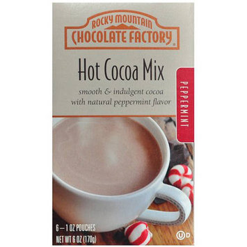 Rocky Mountain Chocolate Factory Peppermint Hot Cocoa Mix, 1 oz, 6 count