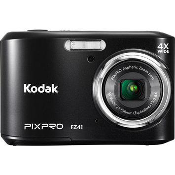 David Shaw Silverware Na Ltd Kodak PIXPRO FZ41 Compact Digital Camera - 16MP 4X Optical Zoom HD 720p Video -Silver