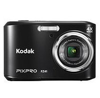David Shaw Silverware Na Ltd Kodak PIXPRO FZ41 Compact Digital Camera - 16MP 4X Optical Zoom HD 720p Video -Black