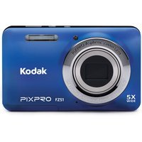 David Shaw Silverware Na Ltd Kodak Blue FZ51-BL Digital Camera with 16.15 Megapixels and 5x Optical Zoom