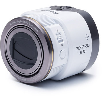 Jk Imaging SL25 Pixpro Smart Lens Camera for Smartphone, 16MP, 25x Optical Zoom, Full HD 1080p, 24mm Wide Angle, Wirelessly/Control