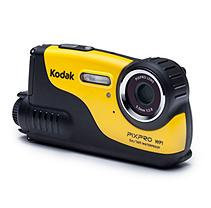 Kodak Scanners WP1-YL PIXPRO WP1 - Digital camera - High Definition - compact - 16.15 MP - underwater up to 16ft - yellow