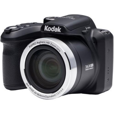 Kodak AZ365 PixPro Astro Zoom 16MP Digital Camera with 36x Optical Zoom, Black