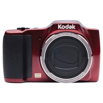 Kodak Pixpro Fz201 16.2 Megapixel Compact Camera - Red - 3 Lcd - 169 - 20x Optical Zoom - 4x - Optical [is] - 4608 X 3456 Image - 1280 X 720 Video - Pictbridge - Hd Movie Mode (fz201-rd)