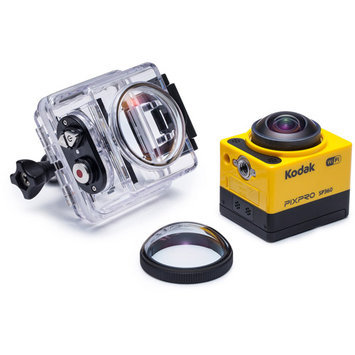 Kodak - Pixpro Sp360 Hd Action Camera - Yellow