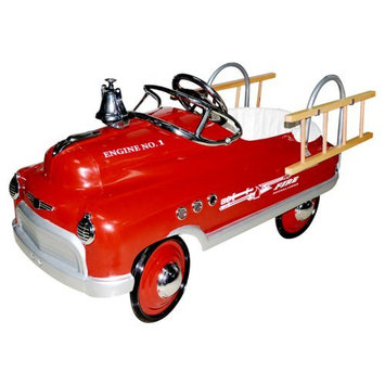 Airflow Collectibles Fire Truck Comet Pedal Riding Toy