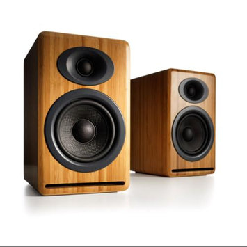 Audioengine P4 Premium Passive Bookshelf Speaker Pair (Natural Wood)