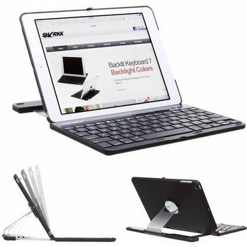 SHARKK Apple iPad Air All-in-1 Bluetooth Wireless Keyboard, Case and Stand