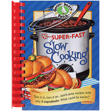 Gooseberry Patch M824P Super-Fast Slow Cooking Cookbook