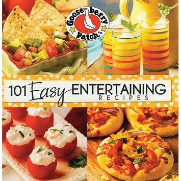 Gooseberry Patch 101 Easy Entertaining Recipes Cookbook