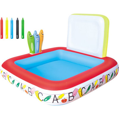 Bestway Inflatable Learn & Draw School Pool