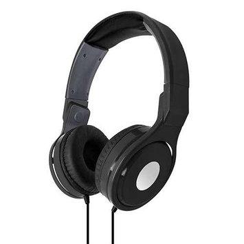Dgl Folding Swivel Stereo Over-Ear Headphones-Black