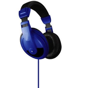 Vibe Premium Color DJ Style Noise Reduction Headphones - Blue