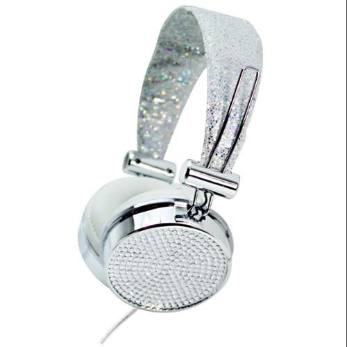 Hype GEM HEADPHONES - Silver Silver/gray