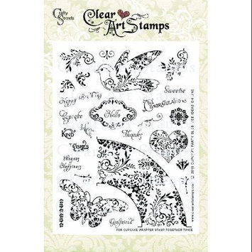 Crafty Secrets Clear Art Stamps Large 8
