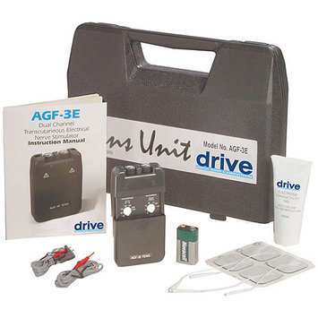 Drive Medical Portable Economy Dual Channel TENS Unit