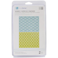 We R Memory Keepers Lifestyle Crafts Goosebumps A2 Embossing Folders