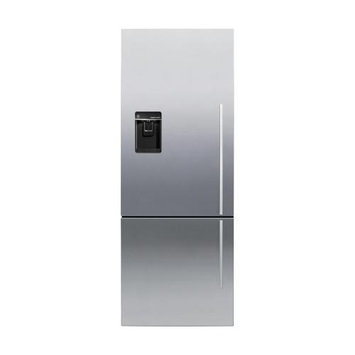 Fisher and Paykel ActiveSmart Stainless Steel Counter Depth Bottom Freezer Refrigerator