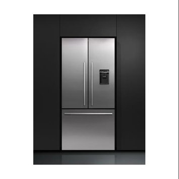 Fisher & Paykel Activesmart 16.9-cu ft French Door Counter-Depth Refrigerator with Single Ice Maker (Stainless Steel) RF170ADUSX4