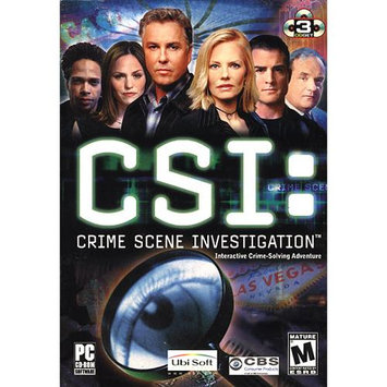 Ubisoft CSI - Crime Scene Investigation (DVD) PC New