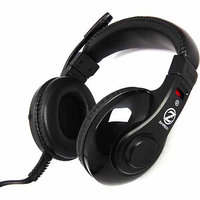 Zalman USA Gaming Headset with Built-in Mic, Black, HPS200
