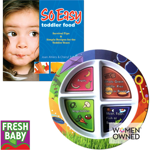 Fresh Baby Toddler Value Pack My Plate & So Easy