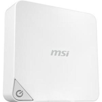 Msi Cubi Cubi-005bus Desktop Computer - Intel Pentium 3805u 1.90 Ghz - Mini Pc - Intel Hd Graphics - Wireless Lan - Bluetooth (cubi-005bus)