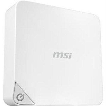 Msi Cubi Cubi-006bus Desktop Computer - Intel Celeron 3205u 1.50 Ghz - Mini Pc - Intel Hd Graphics - Wireless Lan - Bluetooth - Hdmi - 4 X Total Number Of USB Port[s] - 4 X USB 3.0 (cubi-006bus)