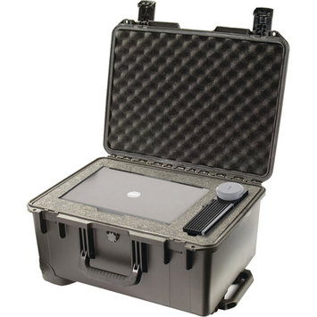 Pelican Storm iM2620 Case with Wheels, Watertight, Padlockable Case, with Multilayer Cubed Foam Interior, Black