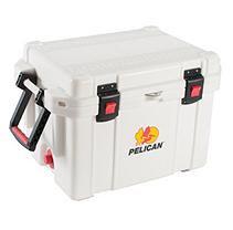 Pelican Products ProGear Elite Cooler, 45 Quart, White