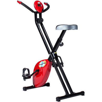 Moving Rider MRX-100 Upright Interactive Exercise Game Bike. Red