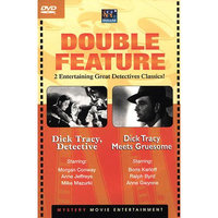 Dollar Entertainment Dick Tracy Detective & Meets Gruesome - 2 Classic Movies