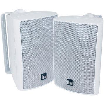 Dual 100-Watt 3-Way Indoor/Outdoor Speakers LU43PW