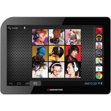 Monster Cable Monster M101BK Black 10.1-inch Quad-Core 16GB Android 4.2 Tablet
