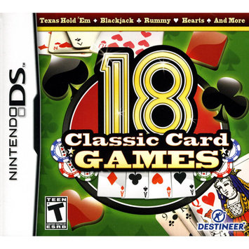Destineer 18 CLASSIC CARD GAMES NDS - DESTINEER